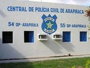 Arapiraca: preso padrasto suspeito na morte de bebê de 7 meses preso suspeito do crime