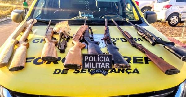 SEGURANÇA Mais de 1250 armas de fogo foram apreendidas em Alagoas de janeiro a outubro deste ano