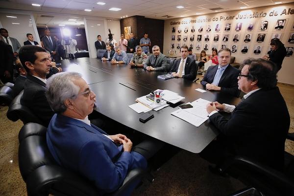 AVISO DE PAUTA Governo de AL firma termo para criação do Escritório Social com CNJ e TJ nesta terça (26)