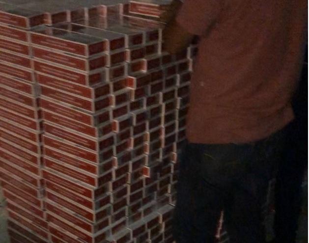 Sertão: Cerca de quatro mil maços de cigarros contrabandeados são apreendidos