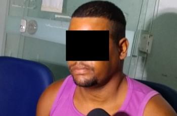 Vídeo. Polícia prende suspeito de matar idosa a pauladas no Sítio Bom Jardim, em Arapiraca