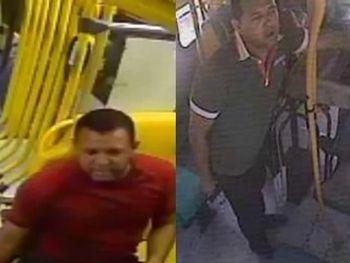 Polícia divulga imagens de suspeito de assaltar ônibus em Maceió