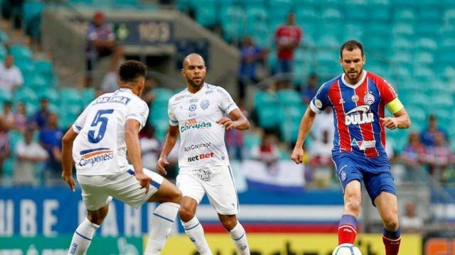 CBF remarca data do duelo entre Bahia e CSA, pela Copa do Nordeste