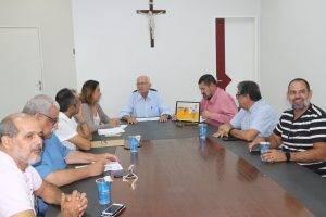 PREFEITO RECEBE ACESA PARA DEBATER PROJETO DA CAVALGADA DE NOSSA SENHORA DO BOM CONSELHO