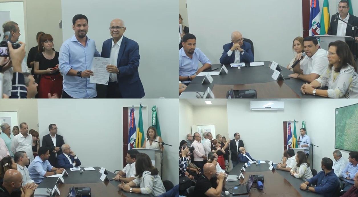 Vídeo: Solenidade de concessão do terreno para construção do Hospital de Amor em Arapiraca