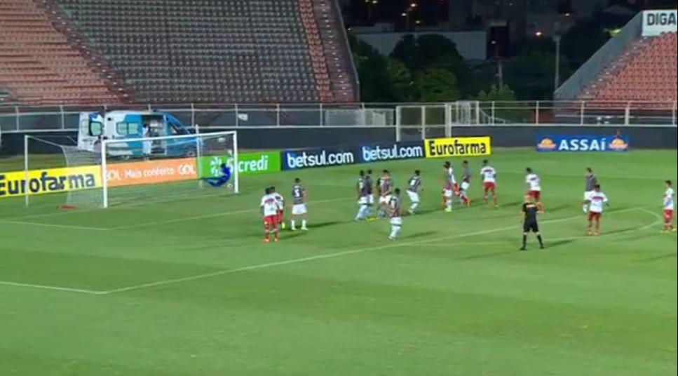 Nos pênaltis, CRB elimina o Fluminense e se classifica para a terceira fase da Copinha