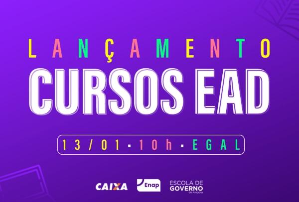 ESCOLA DE GOVERNO Governo de Alagoas lança cursos EAD para servidores na próxima segunda-feira (13)