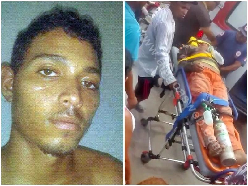Homem é alvejado a tiros enquanto trabalhava em construção em Campo Alegre