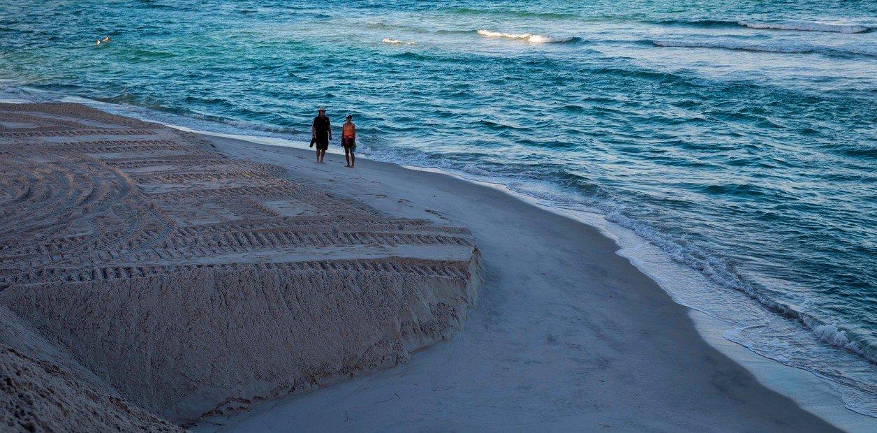 Destino turístico  As praias de Miami Beach estão desaparecendo devido às mudanças climáticas