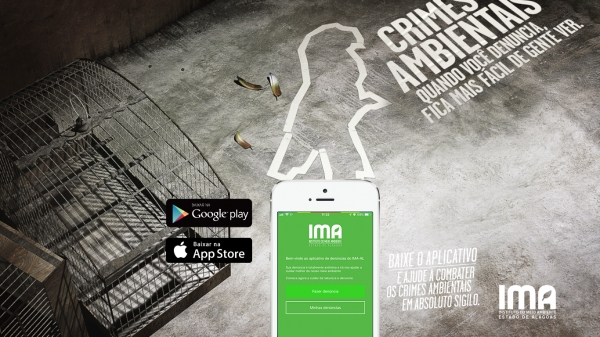 DENÚNCIA VIRTUAL IMA Denuncie: app incentiva população a denunciar crimes ambientais