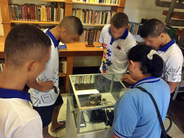 EDUCAÇÃO SOCIAL Socioeducandos visitam museus e aprendem sobre a história e a cultura de Alagoas