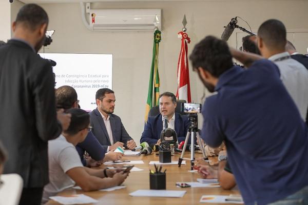 ENFRENTAMENTO Governador cria Gabinete de Crise e anuncia R$ 20 milhões para combater coronavírus