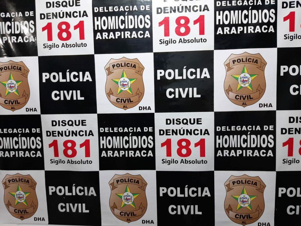 Polícia Civil prende acusado de espancar e matar idosa em Arapiraca