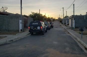 Mega operação busca suspeitos de tráfico no interior de Alagoas