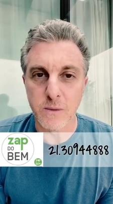 Apresentador da Globo lança 'Zap do Bem' para os moradores do Vergel do Lago em Maceió