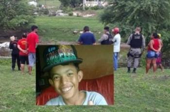 Menino desaparecido há três dias é encontrado morto em Riacho de Jacaré dos Homens
