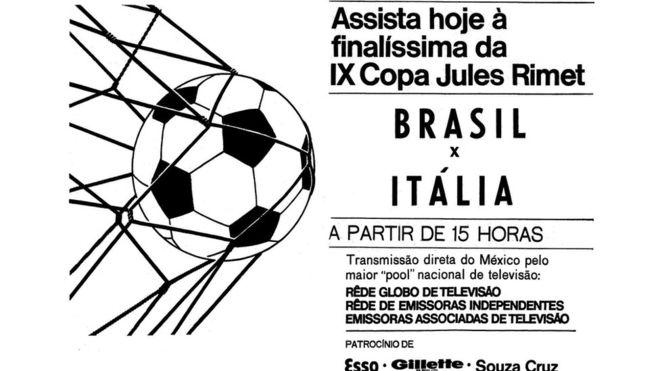 Os bastidores da pioneira transmissão do Tri do Brasil na Copa de 70, que faz 50 anos