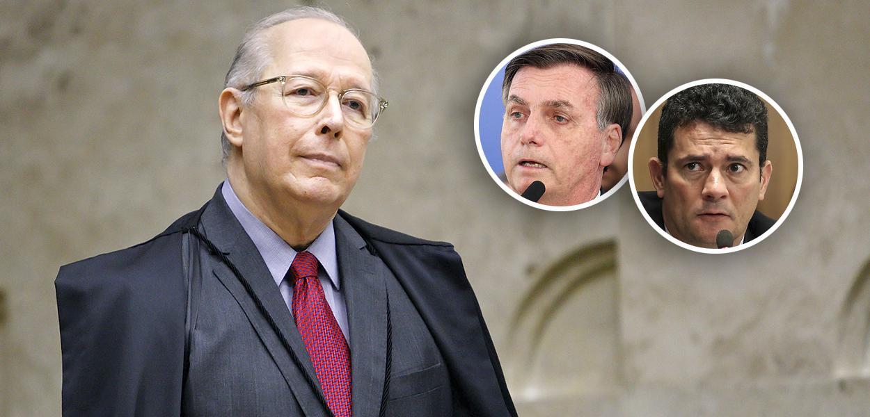 Celso de Mello pede apreensão dos celulares de Bolsonaro e de Carlos Bolsonaro