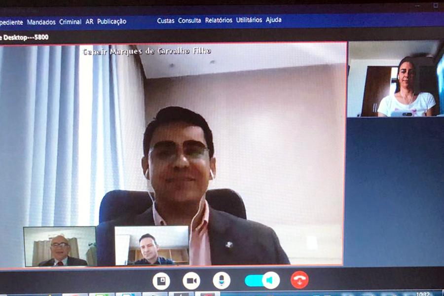 8ª Vara Criminal de Arapiraca realiza por vídeo audiências de acordo de não persecução