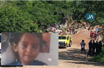 Criança de 8 anos que estava desaparecida é encontrada morta