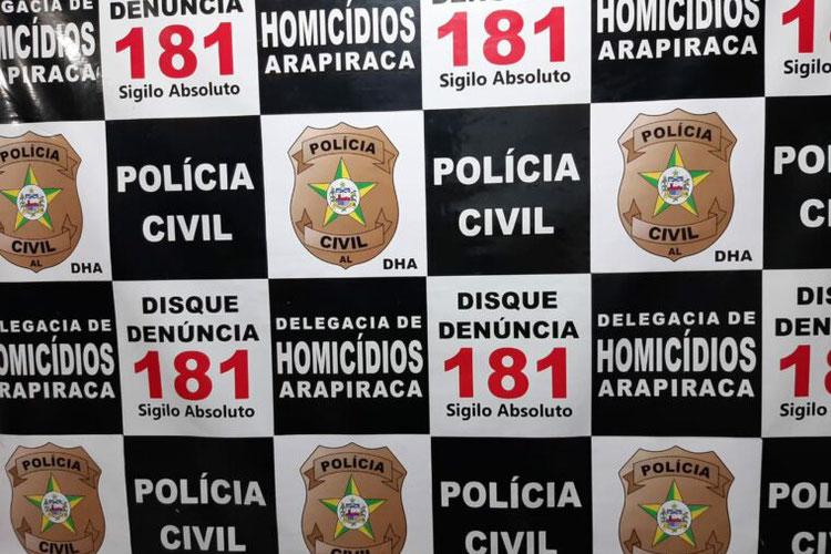Polícia Civil prende em São Paulo foragido suspeito de feminicídio em Arapiraca