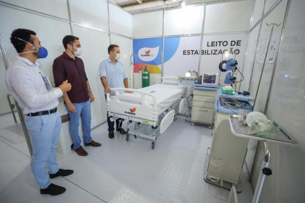 MACEIÓ Hospital de Campanha atende 40 pacientes em 10 dias de funcionamento