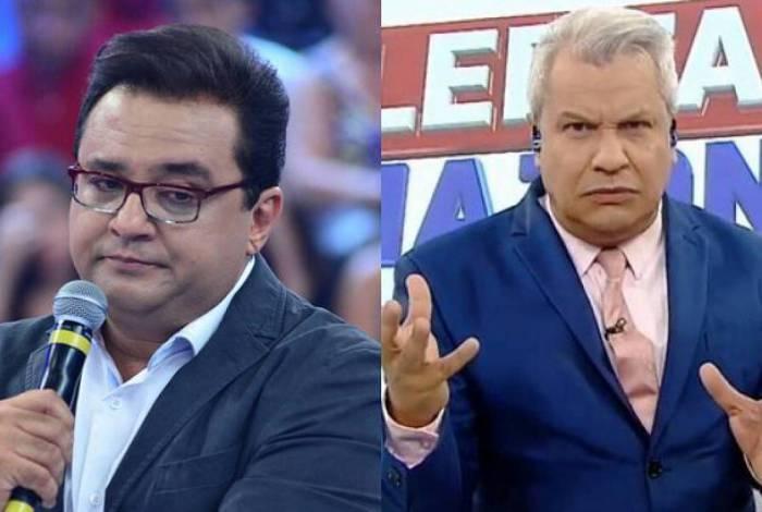 TELEVISÃO Sikêra Jr. critica Geraldo Luís: 'Não gosto dele'