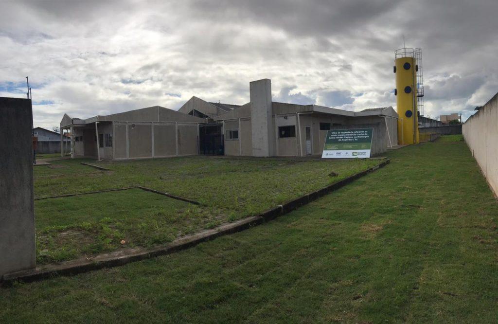 PREFEITURA AVANÇA COM OBRA DE CONSTRUÇÃO DO CENTRO DE EDUCAÇÃO NO VERDES CAMPOS
