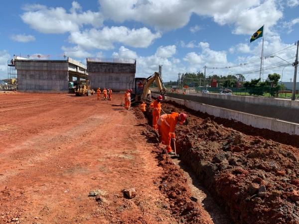 MOBILIDADE URBANA Viaduto da PRF está 80% concluído e será entregue ainda este ano