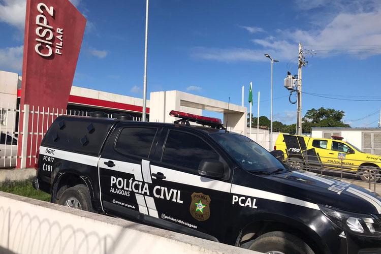 Jovem suspeito de ter executado a tiros namorado de sua ex-companheira é preso no Pilar