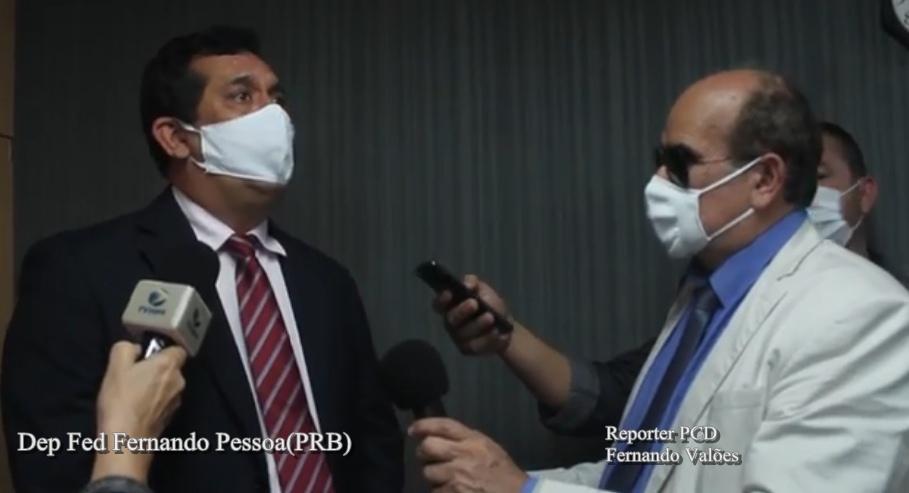 Deputado Fernando Pessoa promete investimento em obras em Arapiraca