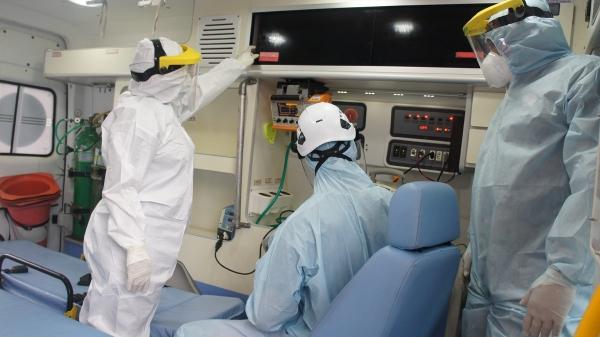 BALANÇO Samu registra em julho queda de 34% nos atendimentos a pacientes com Covid-19