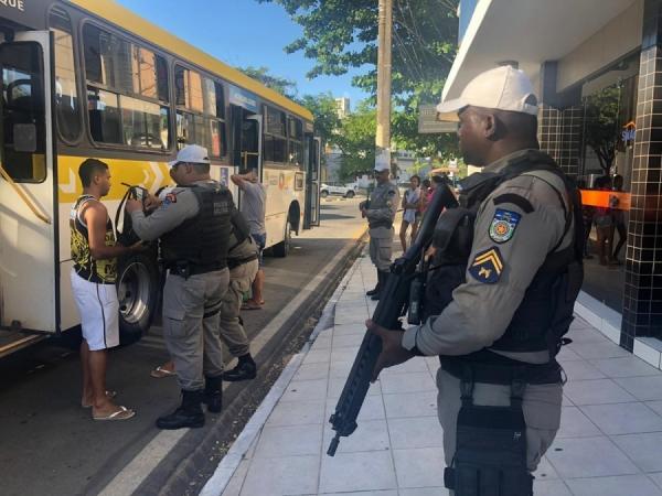 MARCA HISTÓRICA Segurança Pública zera assaltos a ônibus em Maceió pelo terceiro mês consecutivo