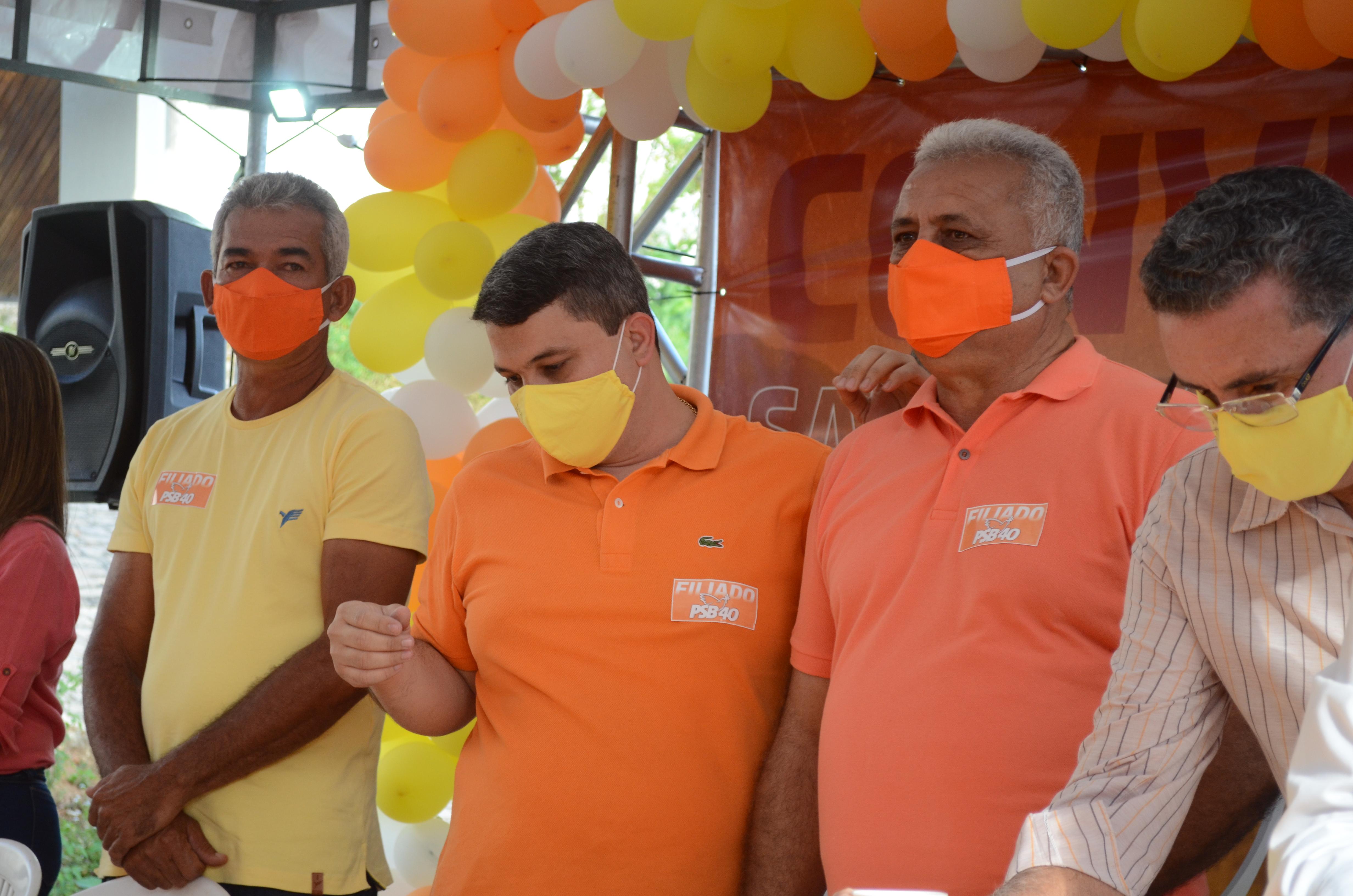 Convenção do PSB indica Meirica como candidato a prefeito de Santana do Ipanema