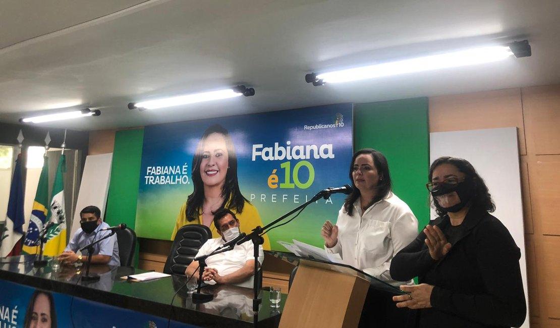 FABIANA PESSOA LANÇA CANDIDATURA E TENTA REELEIÇÃO NA PREFEITURA DE ARAPIRACA