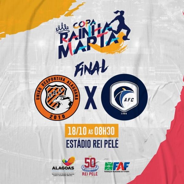 EM MACEIÓ UDA e Acauã decidem a 5ª edição da Copa Rainha Marta neste domingo (18), no Rei Pelé