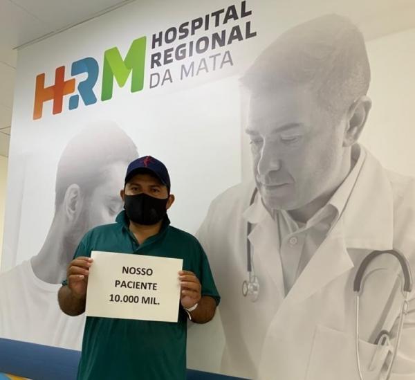 REFERÊNCIA Em 3 meses, Hospital Regional da Mata, em União dos Palmares, atende 10 mil pacientes