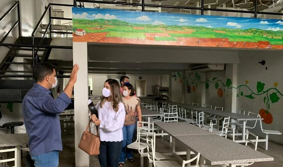 Arapiraca Restaurante Popular Jerimum passa por vistoria e deve ser reaberto