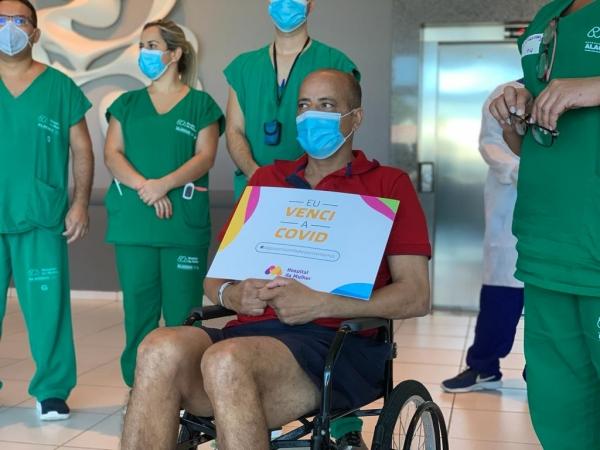 VITÓRIA Mais de mil pessoas com Covid-19 receberam alta no Hospital da Mulher