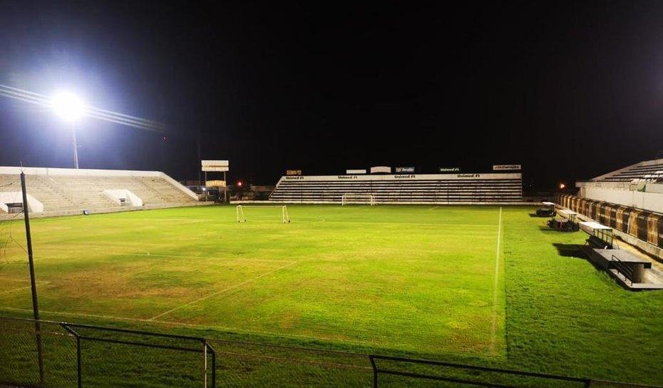 Prefeitura de Arapiraca realiza melhoria no  Estádio Municipal