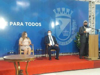VÍDEO: Prefeito Luciano Barbosa anuncia composição de secretariado de sua gestão