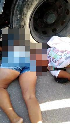 Mãe e filha morrem após colisão com caminhão tanque  em Maceió