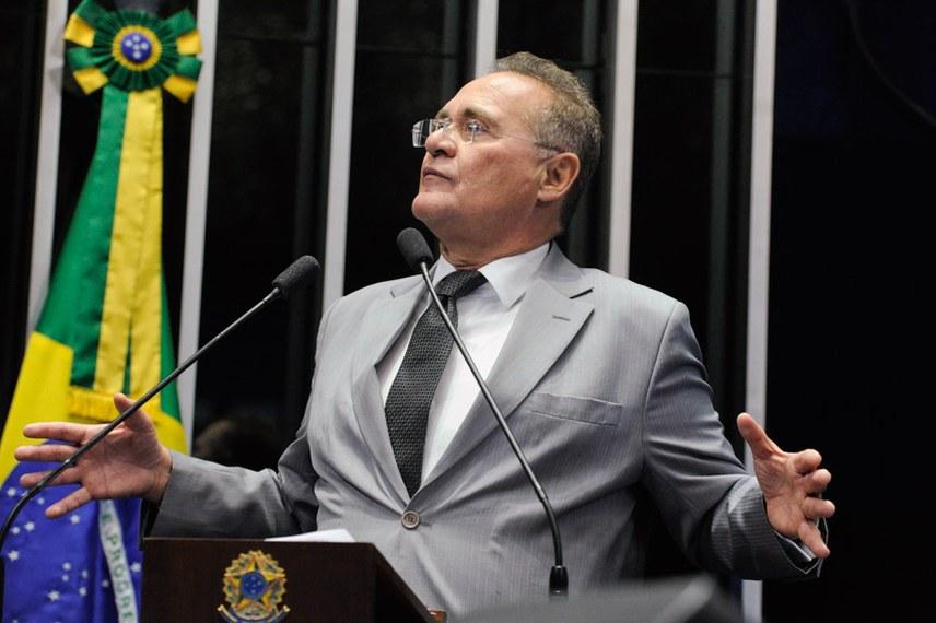 """Calheiros chama Lava Jato de """"Primeiro Comando de Curitiba"""" e Moro de """"capo"""""""