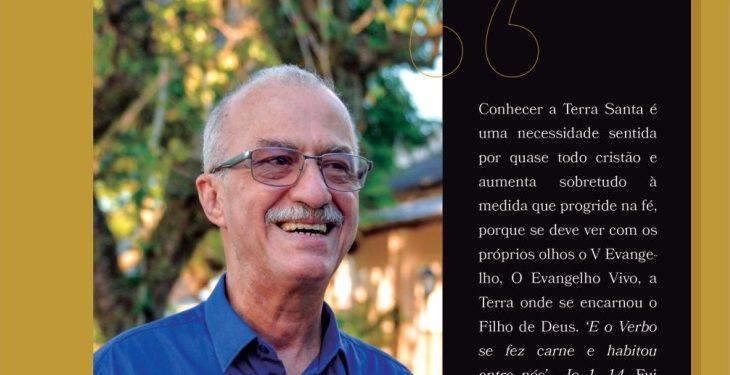 Padre Manoel José lança livro sobre peregrinação em Jerusalém
