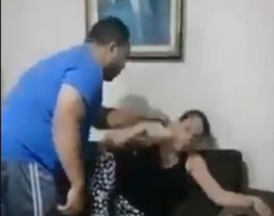 Suposto pastor agride esposa e vídeo viraliza nas redes
