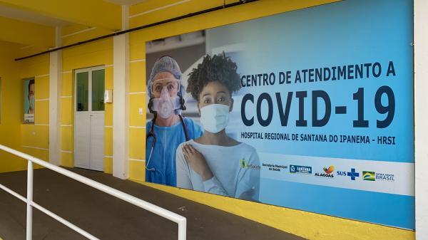 SERTÃO: Ocupação nos leitos de Covid-19 está em 100% no Hospital de Santana