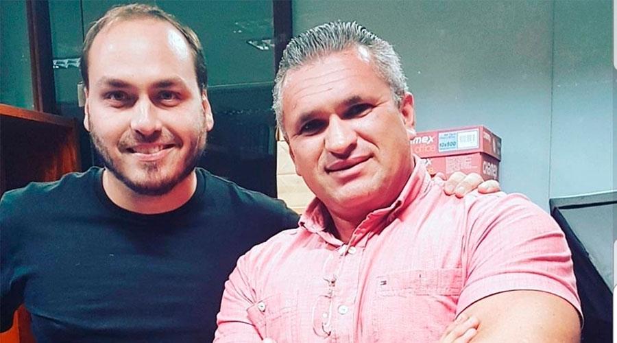 """""""Traidores e ladrões são vocês"""" dispara vice-presidente do PSL a Eduardo Bolsonaro"""