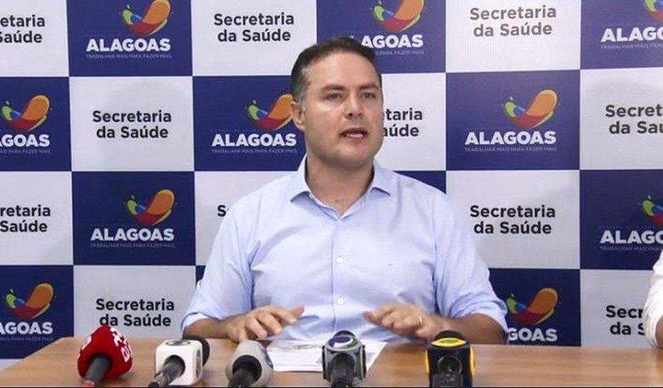 VÍDEO: Renan Filho anuncia vacinação para segurança e profissionais da educação